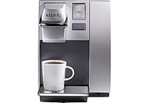 Keurig® OfficePRO® Premier Single-Cup Coffee Brewing System, Black/Silver