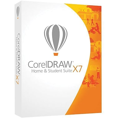 CorelDraw Graphics Home & Student Suite X7, Bilingual