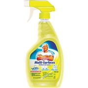 Multi-Surface Cleaner, Lemon, 32oz Bottle, 6/Ct