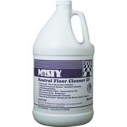 Neutral Floor Cleaner Ep, Lemon, 1 Gallon Bottle, 4/Ct