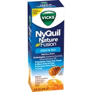 Nyquil Nature Fusion Nighttime Relief 8oz