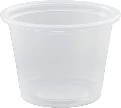 Dart Conex Complements Portion/Medicine Cups, 1 oz, Clear, Plastic, 2500/Carton (100PC) DCC100PC
