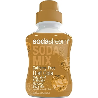 SodaStream Sodamix Diet Caffeine Free Cola, 500ml