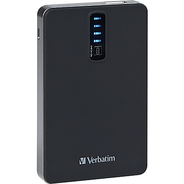 Verbatim Dual USB Power Pack, 5200 mAh