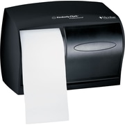 Kimberly-Clark Professional* Coreless Double Roll Tissue Dispenser, Plastic, Smoke (9604)