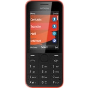 Nokia 208 3G Cell-Red/Black