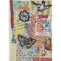 Paperchase Lazy Days Fabric Jounal, 6.75in.x8.5in.