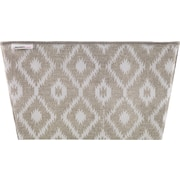 MACBETH TOTE Large Two-Tone Print Tan and White