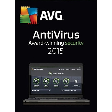 AVG AntiVirus 2015, 1-Year for Windows (1 User) [Download]