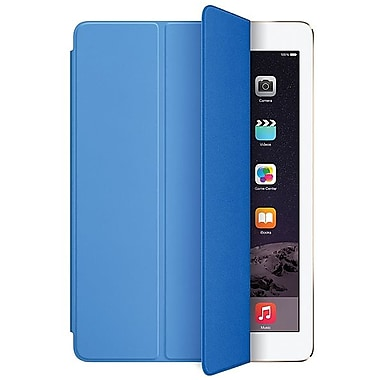 Apple – Étui Smart Cover pour iPad Air 2, polyuréthane, bleu (MGTQ2ZM/A)