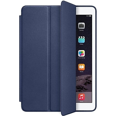 Apple iPad Air 2 Smart Case, Aniline-Dyed Leather, Midnight Blue (MGTT2ZM/A)