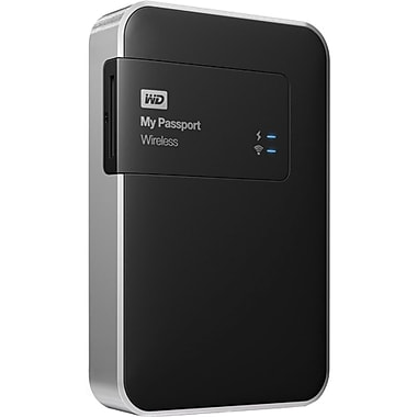 Western Digital® My Passport Wireless 1TB Wi-Fi Mobile Storage