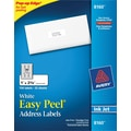 Avery 8160 White Inkjet Address Labels with Easy Peel®, 1in. x 2-5/8in., 750/Box