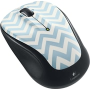 Logitech M325 Wireless Optical Mouse, Ambidextrous, Zany Blue (910-004378)