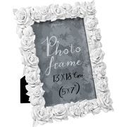 """Paperchase Rose Picture Frame, White, 5""""x7"""""""
