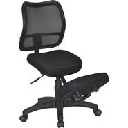 Kneeling Chair Curved Mesh