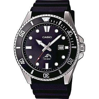 Casio® MDV106-1AV Men's Analog Duro 200M Dive Wrist Watch, Silver