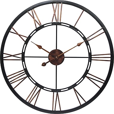 Infinity Instruments Metal Fusion Wall Clock