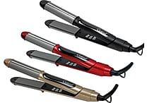 2 in One Professional DUOPRO Flat & Curling Irons, Assorted Colors