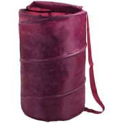 Lavish Home Breathable Pop Up Laundry Clothes Hamper, Red