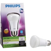Philips 7 Watt A19 LED Light Bulb, Soft White, Dimmable