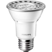 Philips 8 Watt PAR20 LED Flood Light Bulb, Bright White, Dimmable