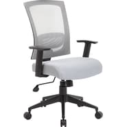 Boss Mesh Back Gray Task Chair