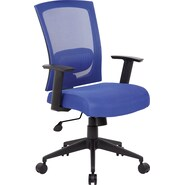 Boss Mesh Back Blue Task Chair