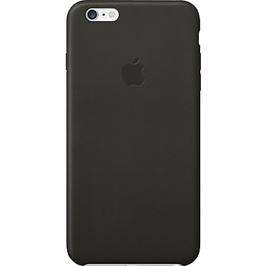 Apple Leather Case for Apple iPhone 6 Plus, Black