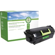 Sustainable Earth by Staples Remanufactured Black Laser Toner Cartridge, Lexmark MX710, (SEBMX710RDS), High Yield