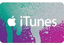 iTunes Gift Card, $25