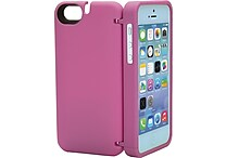 Eyn case for iPhone 5c w/Hidden Storage, Mirror & Kickstand, Assorted Colors