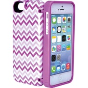 Eyn case for iPhone 5/5s with Hinged Storage Back , Chevron