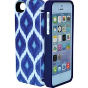 Eyn case for iPhone 5/5s with Hinged Storage Back, Indigo