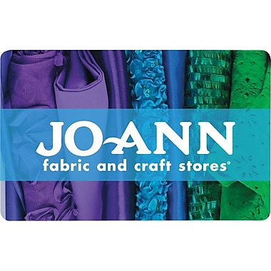 Jo Ann Stores Gift Card 25 Email Delivery