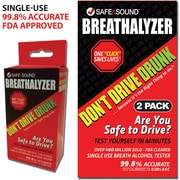 Single-Use Breathalyzer, 2-Pack