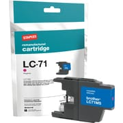 Staples Remanufactured Magenta Ink Cartridge, Brother LC71M (SIB-RLC71M)