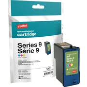 Staples Remanufactured Tricolor Ink Cartridge, Dell Series 9 (SID-R09C), High Yield