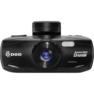 DOD LS460W Full HD Dash Camera with GPS Logging and WDR Image Enhancement-Bilingual