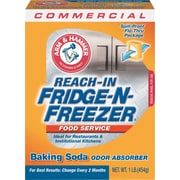 Fridge N Freezer Pack Baking Soda, Unscented, Powder, 16 Oz., 12/Carton