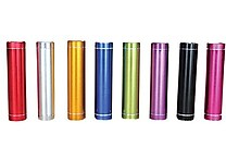 iPM Portable USB 2600mAh Universal Flash Chargers, 2/Pack, Assorted Colors