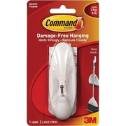 "3M™ Command™ Wire Hook, 4.12"" x 1.5"" x 1.8"", Holds 5 lbs."