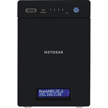 NETGEAR ReadyNAS 104 Diskless Network Attached Storage RN10400