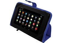 FileMate Clear X4 16GB 7' T750 Quad-Core Tablet Bundles, Assorted Colors