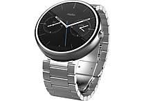 Moto 360, Light Stainless Steel