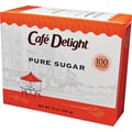 Dixie Crystals Pure Sugar Packets, 100/Box