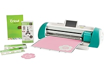 Cricut Expression 2 Teal Machine with 2 Preloaded Cartridges & Bonus French Manor Cartridge