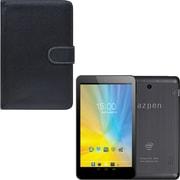 Azpen 7 A750 Quad Core HD Android Tablet with Bonus Black Leather Case