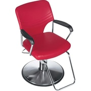 Global Beauty Hydraulic Chair with Chrome Footrest