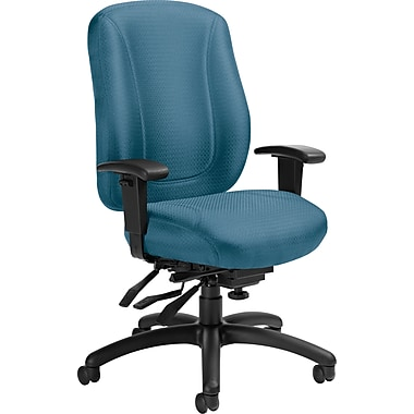 Offices To Go® Overtime High Back Multi-Tilter Office Chair, Marine